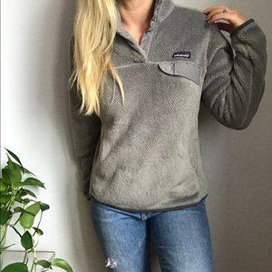 RARE Patagonia Re Tool Snap Pullover Fleece S